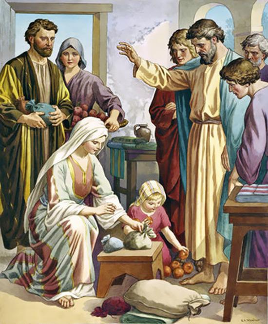Hechos-apostoles-4-necesidad-compartir-repartir-comunidad